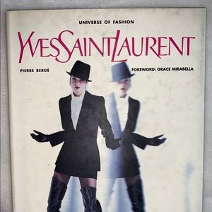 Yves saint Laurent the universe of fashion book